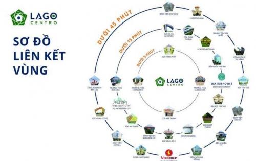 Điểm nổi bật của Dự án Lago Centro 80m2 210 triệu