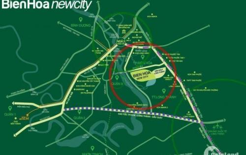 Đất nền Biên Hòa newcity giá ưu đãi sổ đỏ trao tay