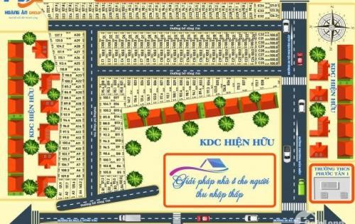 Cơ hội sở hữu đất nền giá rẻ- mặt tiền đường lớn- cạnh sân bay Long Thành