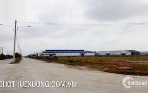 Bán gấp đất KCN Bình Xuyên Vĩnh phúc DT 5050m2 phù hợp xây dựng kho bãi nhà xưởng