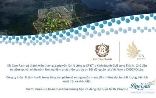 Nhà phố nghỉ dưỡng KN Paradise, đầu tư an cư lý tưởng. Liên hệ: 0944232068