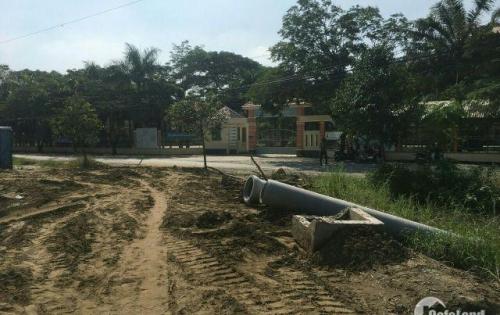 Tôi cần bán 2 lô đất mặt tiền đường, đối diện trường tiểu học Long Hòa, 550tr