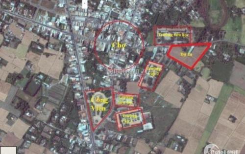 Hot! Chiết khấu 6% đất nền phố chợ Rạch Kiến, giá thấp nhất khu vực, sổ hồng riêng, xây dựng tự do