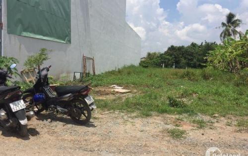 Bán rẻ nền đất gần Five Star Eco City ,mặt tiền Đinh Đức Thiện giá 950 triệu ,Sổ Đỏ.