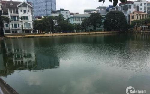 Bán đất Nguyễn Thị Định, Ô TÔ tránh, View Hồ, DT 74m2, 9.5 tỉ.