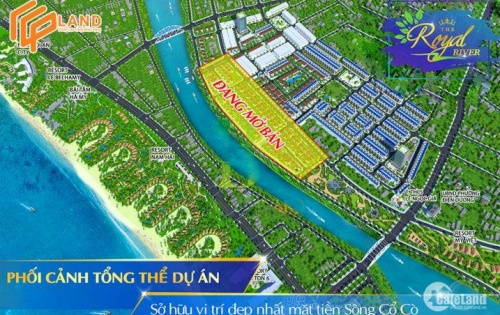 Bán Biệt thự ngay mặt tiền sông Cổ Cò gần kề bãi tắm Thống Nhất...