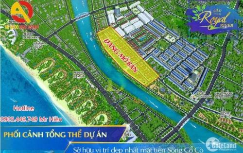 Bán đất nền biệt thự vew sông cổ cò nằm giữa hai thành phố du lịch Hội An và Đà Nẵng