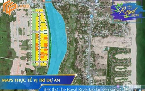 The Royal River ven Hội An đất nền biệt thự view sông mở bán giai đoạn 1