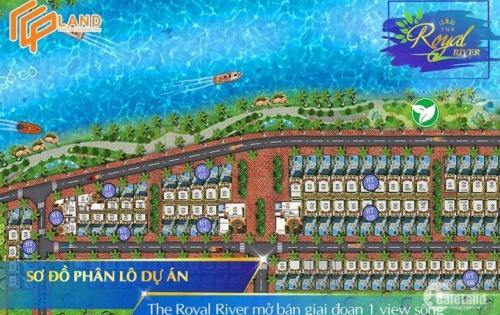The Royal River Khu Biệt thự Nghĩ Dưỡng cao cấp, view sông Cổ Cò.