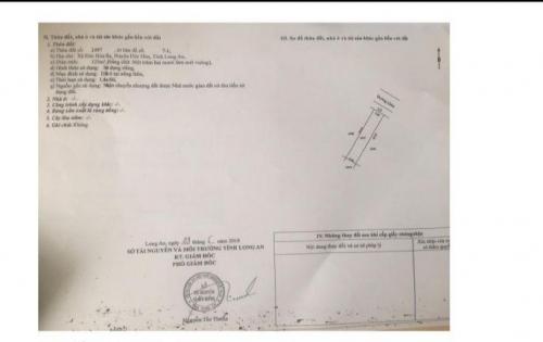 Bán lô đất chính chủ SHR thổ cư 100% Đức Hòa