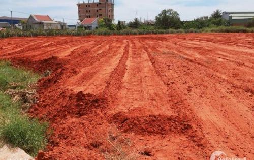 Đất nền mặt tiền đường nhựa 5m gần quốc lộ 1A 465 triệu/nền/100m2