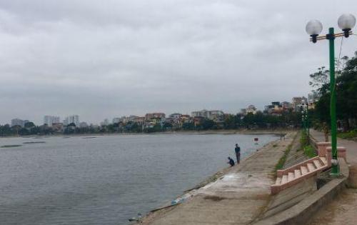 Biệt thự mặt hồ Định Công 290m2 giá 58 triệu/m2 đường 18m rộng rãi vị trí đẹp thanh toán 50%