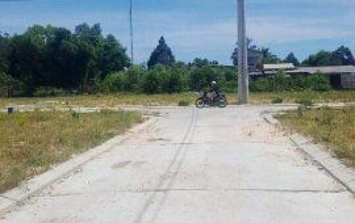 Đất đẹp KQH Nguyễn Khoa Chiêm, phường An Tây, TP Huế. DT120,9m2, ngang 6m