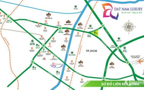Đất Nam Luxury khu đô thị xanh - giá từ 10tr/m2, VIB hỗ trợ vay 50%
