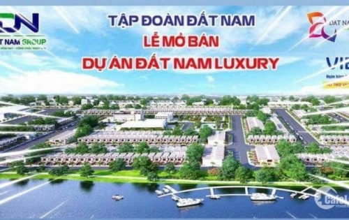 Đất Nam Luxury Khu Đô Thị Xanh - Giá từ 10tr/m2 VIB Hỗ trợ vay 50%