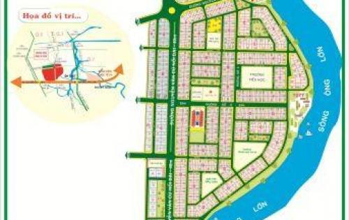 Chính chủ bán đất đường số 9 trung sơn bình chánh dt 5x20 sổ đỏ