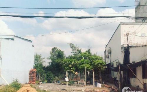 Bán lô đất mặt tiền Tỉnh lộ 10 gần KCN Lê Minh Xuân 3 ,sổ hồng riêng. Thổ cư 100%. Xây cất tự do.