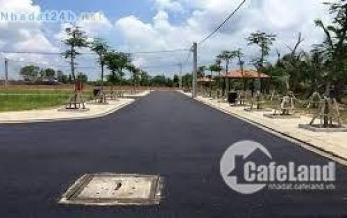 Bán gấp lô đất đường Xuyên Á, cách bệnh viện Xuyên Á 500m, shr, giá 750tr