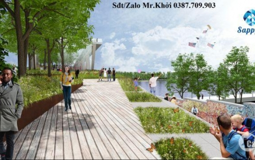 Mở bán 30 lô đất nền phố thương mại Sapphia Villas- thuộc khu đô thị VinCity 2000ha