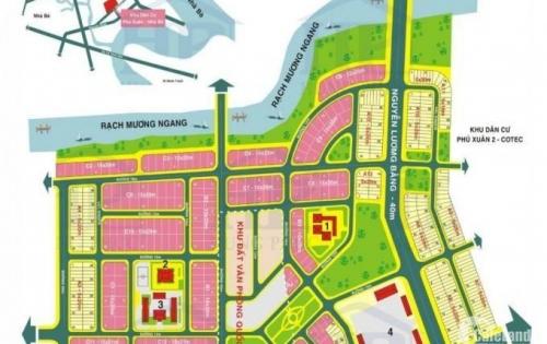 đất nền nhà phố khu dân cư phú xuân vạn phát hưng nhà bè 0939.040.196