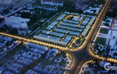 Shophouse đường Nguyễn Sinh Sắc, đường 60m, cách bãi tắm 700m, đối diện trung tâm hành chính loại 1 Đà Nẵng