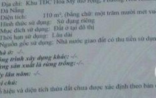 {Chính Chủ} đất đường Nguyễn Khắc Nhu, đường lớn 7m5