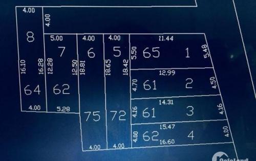 Bán 4 lô đẹp mặt tiền Bàu Năng 11,Liên Chiểu!!!