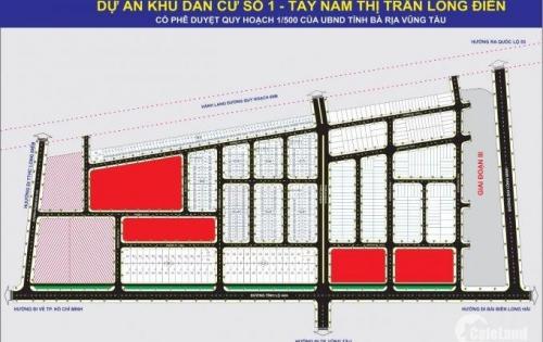 Khu Dân Cư Số 1 Tây Nam Long Điền