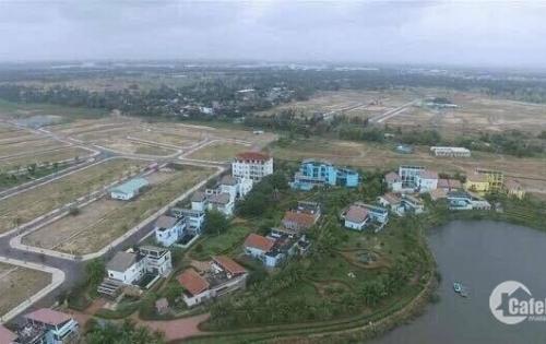 Cần tiền bán nhanh lô đất đẹp 122,5m2 ven sông cổ cò