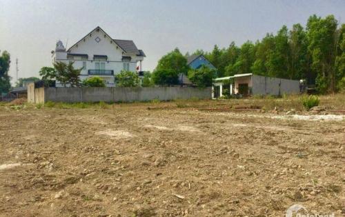 Bán đất huyện Nhơn Trạch 100m2, gần vòng xoay cái nón, nằm trong khu biệt thự CA huyện. SHR,tc 100%.