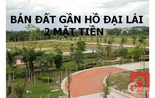 Bán gấp đất gần hồ Đại Lải 2 mặt phố Phùng Chí Kiên- Nguyễn Văn Cừ giá tốt