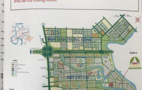 Đất nền  Cát Lái quận 2, 6 nền giá chủ đầu tư, 42tr/m2, BIDV hỗ trợ 70% LH:0932127186 ( coi đất)