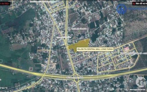 Cần bán đất nền khu đô thị cao cấp Central mall Long Thành, giá chỉ từ 680tr/nền.