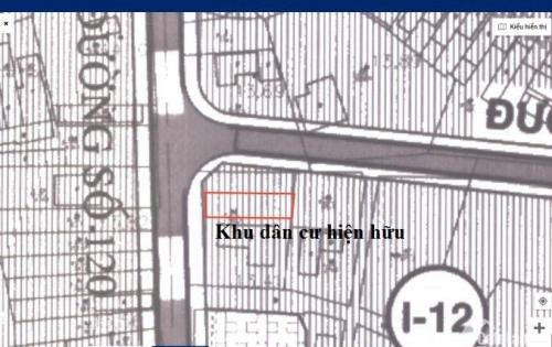 Đất bán 128.6m2 ngay MT đường120 Tân Phú, quận9