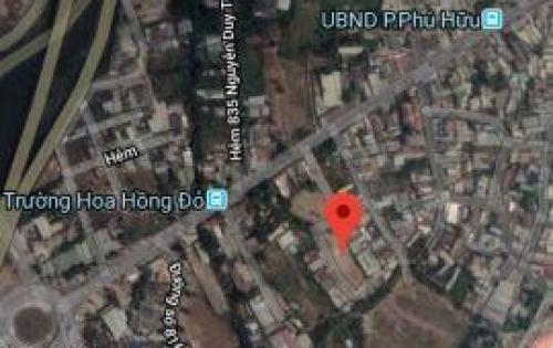 Bán lô đất 116m2 ngay vòng xoay Phú Hữu - Nguyễn Duy Trinh giá 28.5 tr/m2