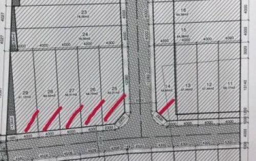 còn 7 nền đất sổ đỏ, xây dựng tự do ngay bến xe Miền Tây