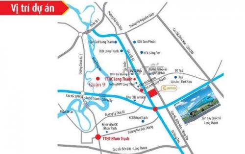 Siêu dự án đẹp nhất Long Thành, ngay tại mặt tiền quốc lộ 51, đối diện chợ mới Long Thành, LH ngay 0937 847 467
