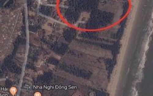 Đất ven biển Tiên Trang, đường Hồ Xuân Hương nối dài , Quảng Thái