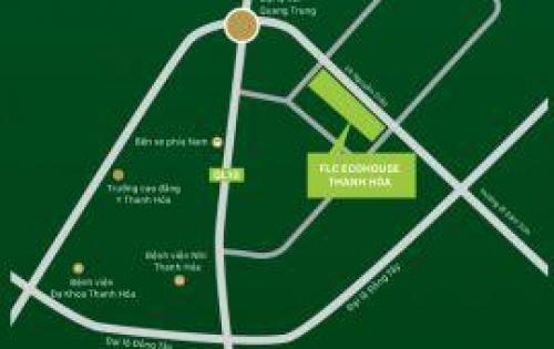 Bán lô đất biệt thự mini vói giá chỉ từ 1.8 tỷ thuộc dự án FLC ECO HOUSE - khu ngã Ba Voi - đối diện khách sạn Mường Thanh - P.Đông Vệ -  tp Thanh Hóa.