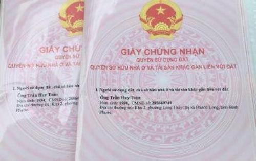 cần tiền gia đình bán gấp lô đất giá rẻ tại xã An Tịnh Trảng Bàng Tây Ninh