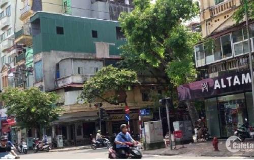 Bán nhà mặt phố Phạm Hồng Thái-Ba Đình 60 m2, 2 tầng,MT4.5 m,giá 19 tỷ
