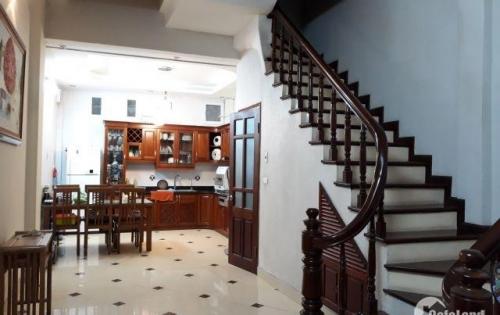 Bán nhà mặt ngõ kinh doanh sầm uất ngõ 100 Đội Cấn, Ba Đình DT 48m2*4 tầng.