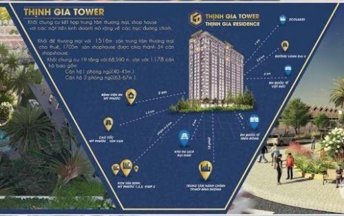Mở bán giá đầu tư căn hộ Thịnh Gia Tower chỉ 700tr