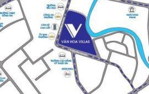 Bán dự án Văn Hoa Villas đối diện UBND P.Thống Nhất