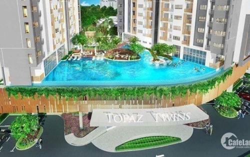 Bán căn hộ Topaztwins 2 PN tầng 17  giá trực tiếp CĐT hỗ trợ vay 70%,