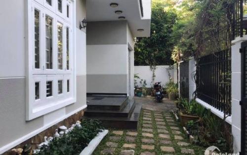 Bán Biệt Thự, Bình Thạnh, 330m2, Khu Biệt Thự Sang Trọng, View Sông Sài Gòn.