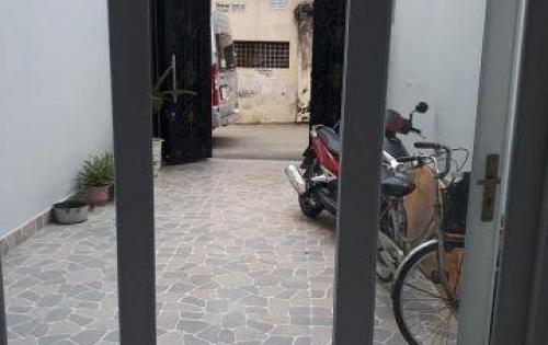 Bán nhà mặt tiền Lê Trực, Phường 7, Bình Thạnh dt 56m2