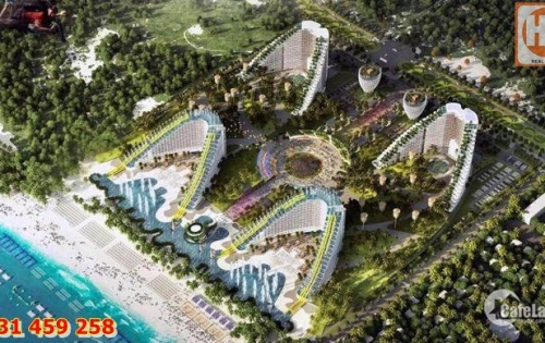 Condotel The Arena Cam Ranh,Chỉ 600tr sở hữu ngay,C/K 4-6,5%,Full nội thất.LH: 0931.459.258
