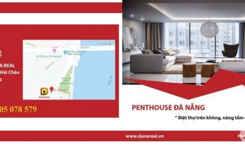 Chỉ với 31tr/m2 bạn đã sở hữu vĩnh viễn 1 căn hộ cao cấp penthouse 2 tầng ngay trung tâm Đà Nẵng