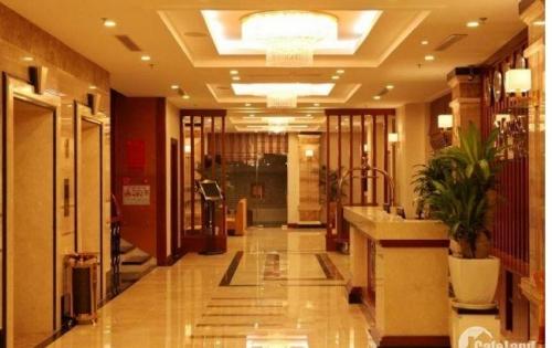 Bàn tòa KS đường Trần Duy Hưng quận Cầu Giấy, S321m2x8t, 45 phòng chuẩn, sinh lời rất cao.